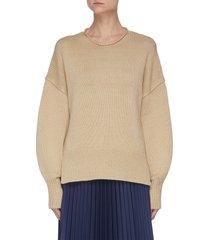 'mercer' chunky knit pullover