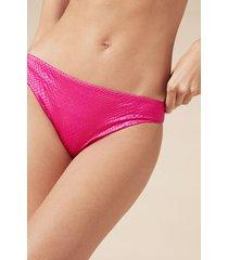 calzedonia alice bikini bottoms woman pink size 3