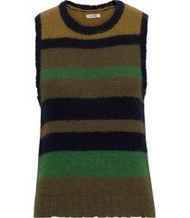 khloe waistcoat vests knitted vests grön nué notes