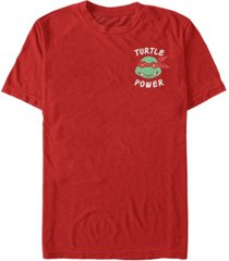 fifth sun teenage mutant ninja turtles men's raphael turtle power short sleeve t-shirt