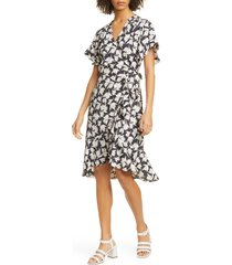 women's joie amelian floral print wrap dress