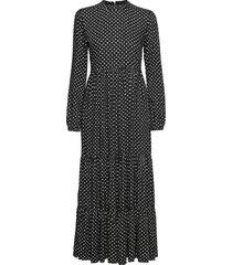 skylar maxi dress maxiklänning festklänning svart superdry