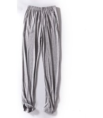 mens soft comody sleepwear modal traspirante casual casa pantaloni