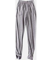 uomo soft comodo indumenti da notte modali traspiranti casa casual pantaloni