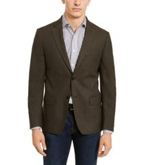 calvin klein men's slim-fit stretch sport coat