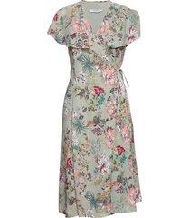 brooke dress jurk knielengte groen andiata