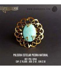 pulsera estelar piedra natural