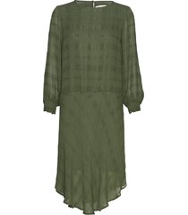 reoiw dress jurk knielengte groen inwear