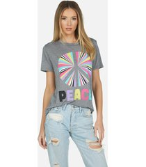 capri rainbow ray peace - l heather grey