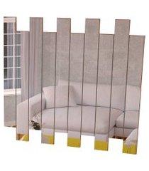espelheira 4055 luxo canela madeirado móveis jb bechara branca