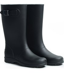 botas impermeables para mujer ginna idecal negro