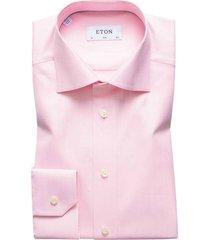 eton overhemd roze slim fit