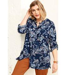 blouse m. collection marine::cognac