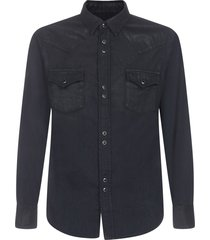 saint laurent classic western shirt