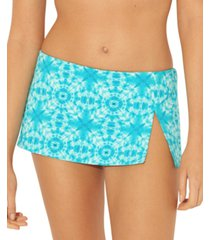 bleu by rod beattie printed swim skirt women's swimsuit