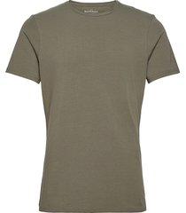 crew-neck t-shirt t-shirts short-sleeved grön bread & boxers