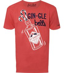 gin-gle bells red t-shirt