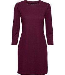 ribbed dress kort klänning röd gap