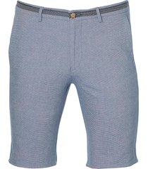 sale - hensen short - slim fit - blauw