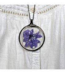 naszyjnik księżycowy kwiat