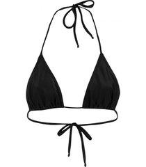 amaro feminino biquini top cortininha básico, preto