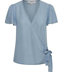 falusa wrap blouse tc