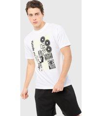 camiseta blanco-negro adidas originals handdrip