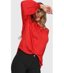 blusa rojo asterisco basilea