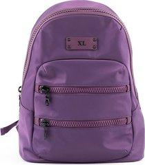 mochila violeta xl extra large mimi