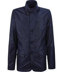 fay blue high-tech fabric jacket