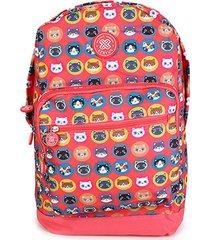 mochila escolar infantil xeryus 16 cat teen feminina