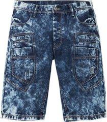 bermuda di jeans loose fit (blu) - rainbow