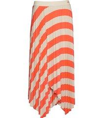 trena knälång kjol orange boss