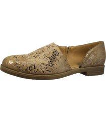 zapato abierto dorado fagus
