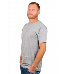 alan red t-shirt derby light grey