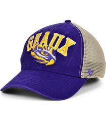 '47 brand lsu tigers outland trucker cap