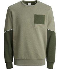 jack & jones men's horizon crew neck sweatshirt