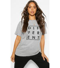 different graphic t-shirt, grey