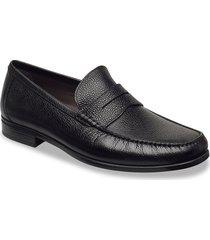 dress moc loafers lage schoenen zwart ecco