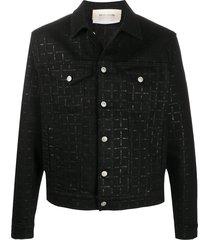 1017 alyx 9sm all-over print jacket - black