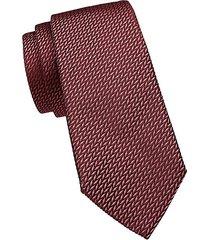 textured silk-blend tie