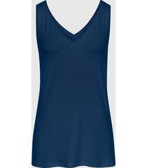 reiss ona - v-neck jersey vest in navy, womens, size xl