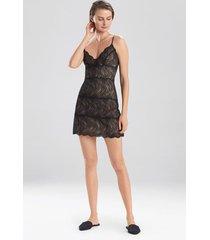 loren chemise, women's, black, size l, josie natori