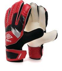 guantes rojos-negros-blancos umbro goalkeeper gloves