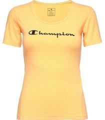 crewneck t-shirt t-shirts & tops short-sleeved orange champion