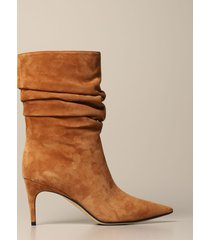 sergio rossi flat booties sergio rossi ankle boot in suede