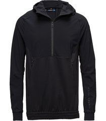m jeff jacket tech mid hoodie trui zwart j. lindeberg