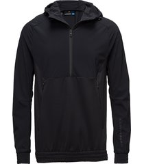 m jeff jacket tech mid sweat-shirts & hoodies mid layer jackets zwart j. lindeberg