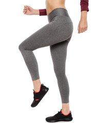 legging everlast long basic gris - calce ajustado