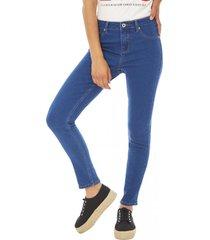 jeans push up azul corona
